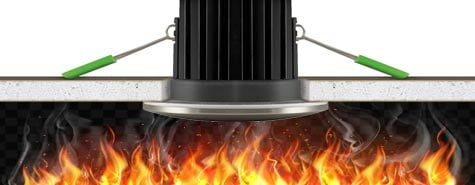 Do I need fire rated downlights?