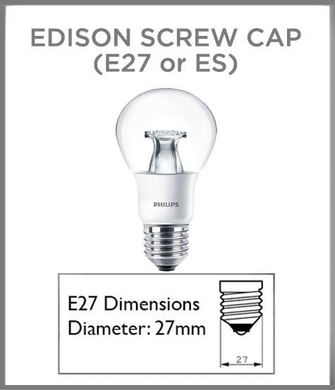 E27 cap type
