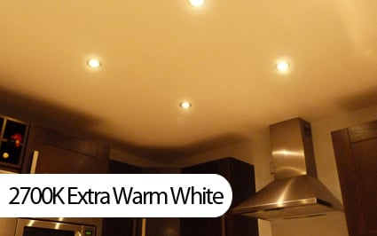 extra warm white 2700K example