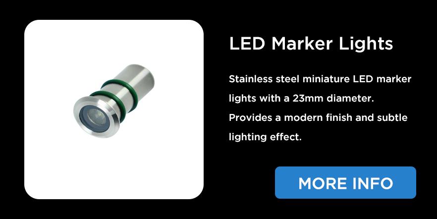 LED marker lights