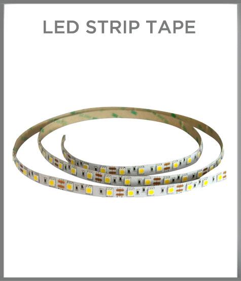 LED strip tape - self adhesive