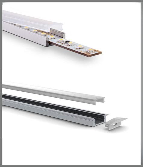 led profile rail