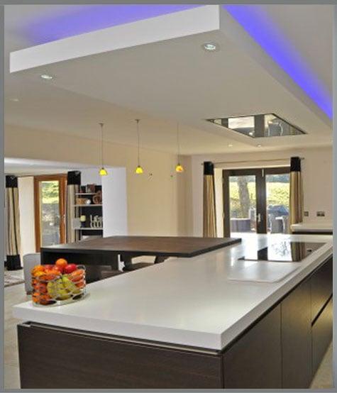 RGB LED Tape Kitchen