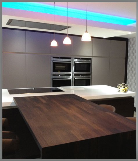 Colour changing kitchen example