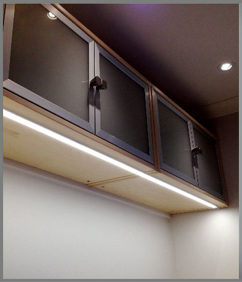 Home Office LED Tape Example