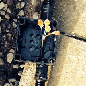 external junction box wiring