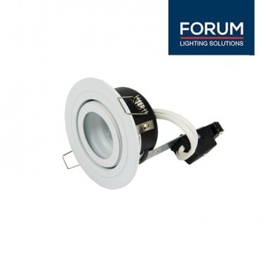 adjustable bathroom GU10 downlight