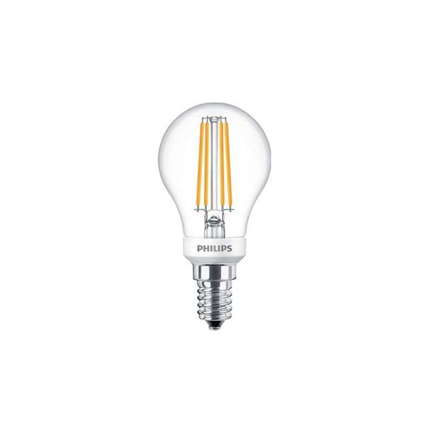 Philips Dimmable Classic LED Lustre Bulb 5W = 40W E14