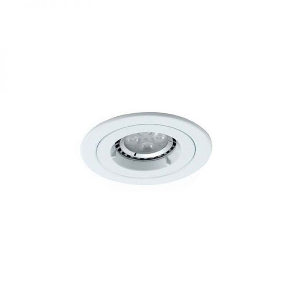 Ansell ATLD/IP65/W Twistlock GU10/MR16 IP65 White Downlight