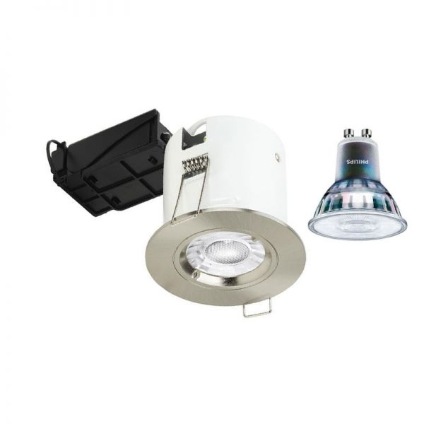 Aurora Enlite GU10 Downlight EN-DLM981X+BZ91PC Polished Chrome Fixed