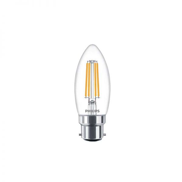 Philips Dimmable Classic LED Candle Bulb 5W = 40W B22