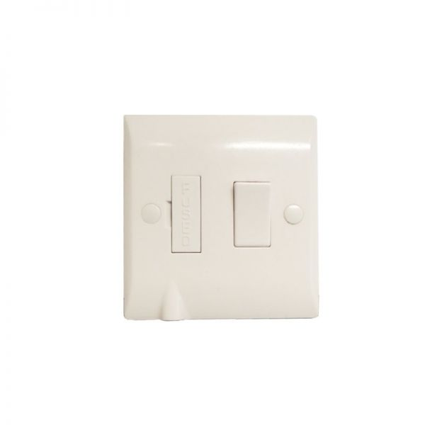 Hamilton Vogue 1G 13A DP Fused Spur With Cable Outlet