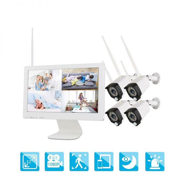 Ener-J Smart All-In-One Wireless 8CH CCTV Home Surveillance System