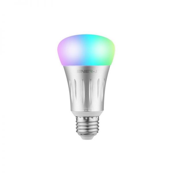 Ener-J Smart WiFi RGB+W GLS LED Lamp E27 6.5W = 40W