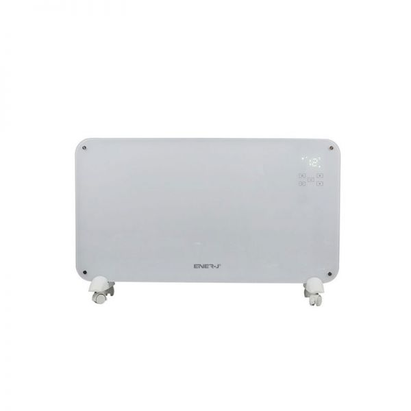 Ener-J Smart WiFi Panel Heater Tempered Glass 2000W