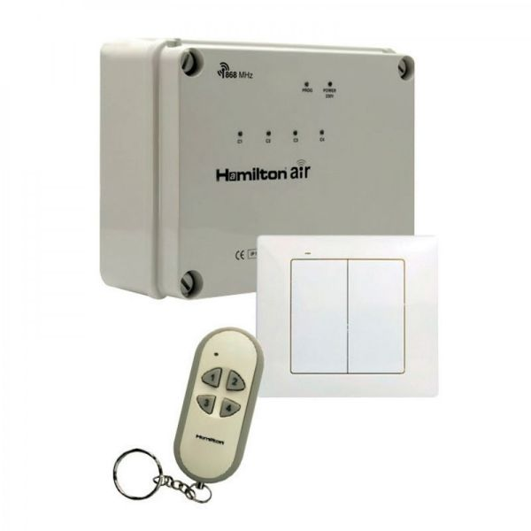 Wireless Control Switch Box 4 Channel Hamilton Air