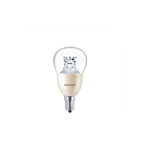 LED Golf Ball 8W = 60W (Lustre Lamp) E14 Dimmable Philips