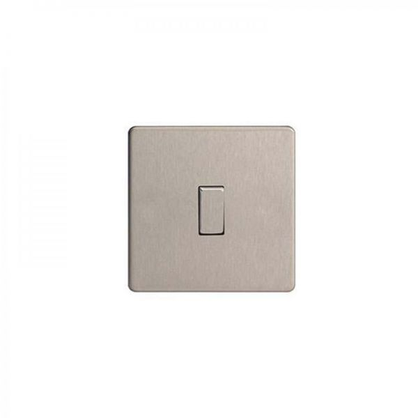 Varilight Screwless Flat Plate DP 20A Switches